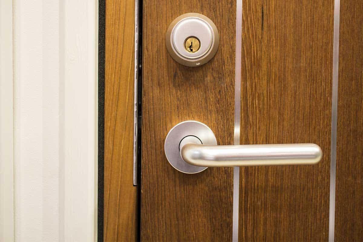Matching Wooden Side Door