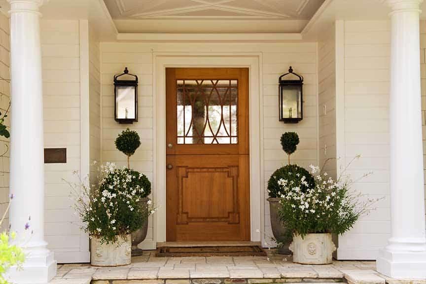 front/side door